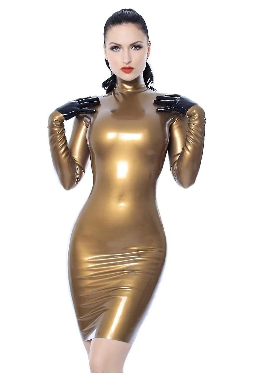 Lada latex dress