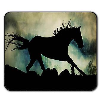 Wild Animal Horse Beast  Non-Slip Mouse Mat Pad 24cm x 20cm | Wellcoda