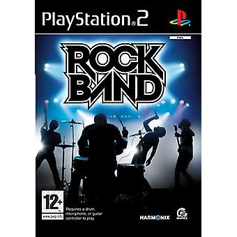 Rock Band - Vain peli (PS2) - Uusi tehdas sinetöity