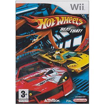 Waarde-Hot Wheels verslaan dat! (Wii)-nieuw