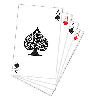 Hand of Cards Cardboard Cutout