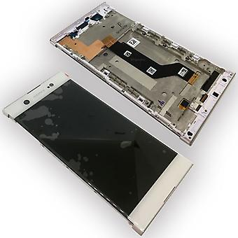 Sony display LCD complete unit with frame for Xperia XA1 ultra G3212 G3221 G3226 white spare parts