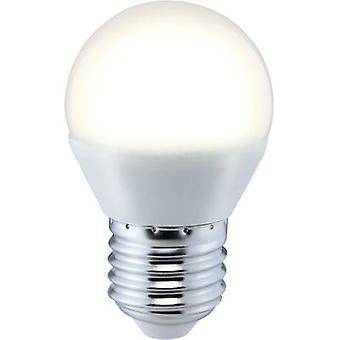 Sygonix LED EØF a (en ++ - E) E27 slippverktøy 5 W = 35 W varm hvit (Ø x L) 45 x 73 mm 1 eller flere PCer