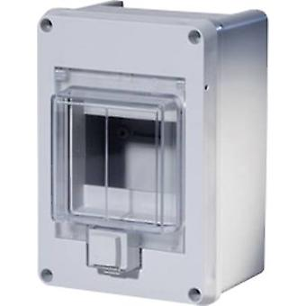 F-Tronic 7240050 KV04WDKE Switchboard cabinet Surface-mount No. of partitions = 4 No. of rows = 1