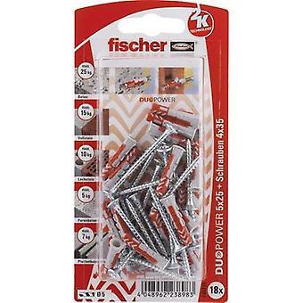Fischer DUOPOWER Dowel set 25 mm 535213 1 Set