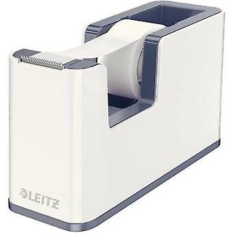 Leitz tape dispenser WOW Duo kleur wit, grijs