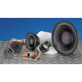 SpeaKa Professional Kit 2 3-way speaker assembly kit incl. insulation material, incl. crossover, incl. cable