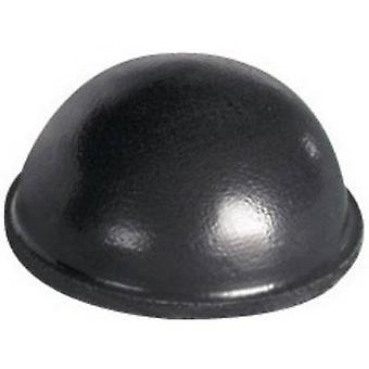 """الأسود ذاتية اللصق، التعميم PB قفل بكالوريوس-15-BK-R-8 """"أقدام"""" (Ø س ح) pc(s) 15.7 مم x 7.9 مم 8"""