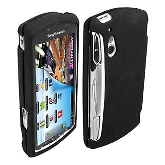 Verizon Snap on Gel Cover for Sony Ericsson Xperia (Black)