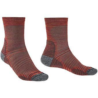Bridgedale Mens Hike Ultra Light Merino Wool Pattern Socks