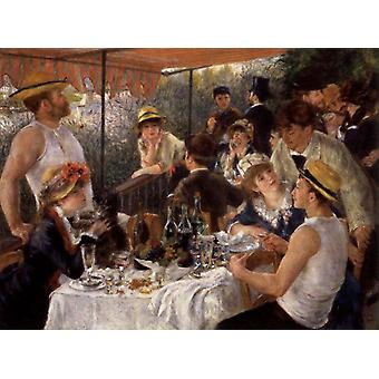 The Luncheon of the Boating Party, Pierre Renoir, 50x40cm
