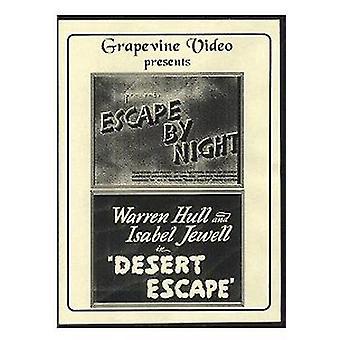 Escape by Night (1937)/Desert Escape (1940) [DVD] USA import