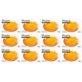 Pears Gentle Care Transparent Soap 125g  (12-Pack)