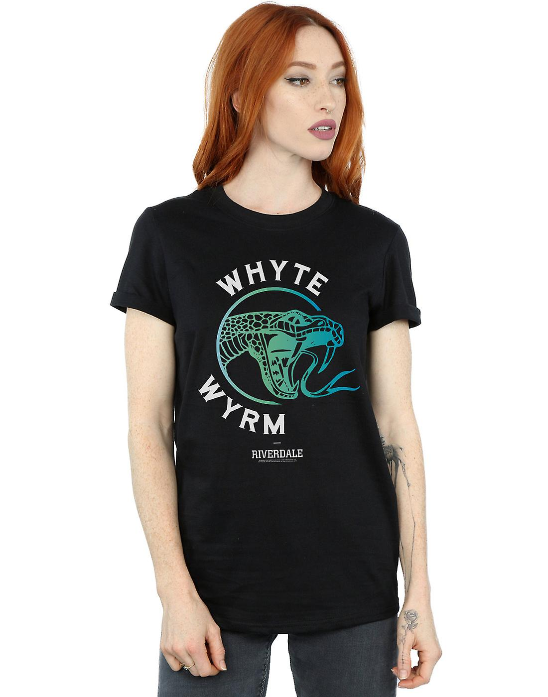 Riverdale Women's Whyte Wyrm Boyfriend Fit T-Shirt