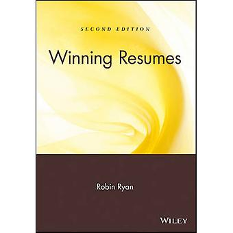 Winning Resumes (2nd Revised edition) by Robin Ryan - 9780471263654 B