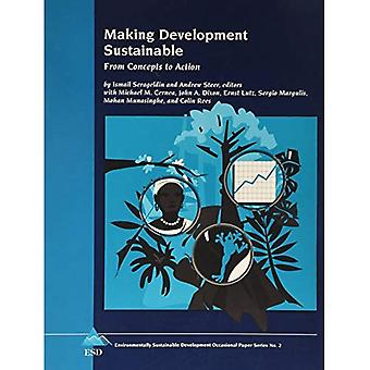 Making Development Sustainable: From Concepts to Action