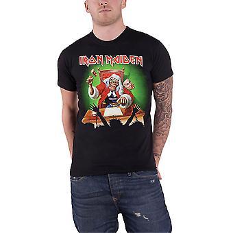 Iron Maiden T skjorte Deaf setning dommer de første ti årene offisielle Mens svarte