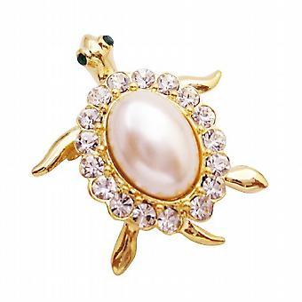 الهدية فريدة لطيف السلاحف الذهب إضافية متألقة تكملة على الموضة الخاصة بك