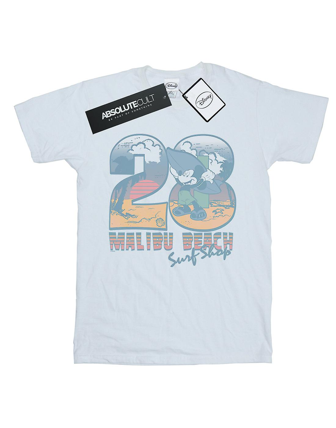 Disney Men's Mickey Mouse Surf Shop T-Shirt