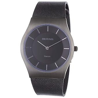 Bering quartz analogue Man with stainless steel strap 11935-077