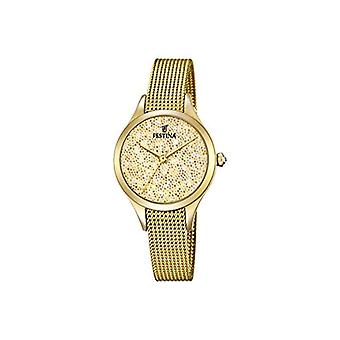 Festina ladies Quartz analogue watch with stainless steel band F20337/2
