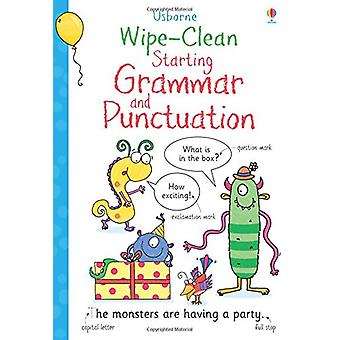 Wipe-Clean Starting Grammar and Punctuation by Jane Bingham - 9781474