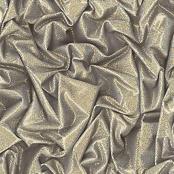 3D Effect Wallpaper Crushed Satin Metallic Glitter Sparkle Gold Black Muriva