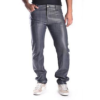 Marc Jacobs Ezbc062019 Men's Grey Cotton Jeans