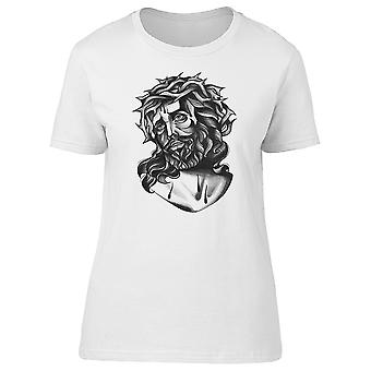 Jesús Cristo corona de espina Tee hombre-imagen de Shutterstock