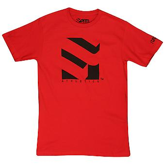 Form Athletics Mens Serrated 2 T-Shirt - Red/Black
