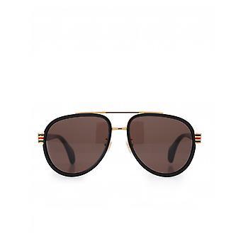 Gucci Eyewear Combi Aviator Sonnenbrille