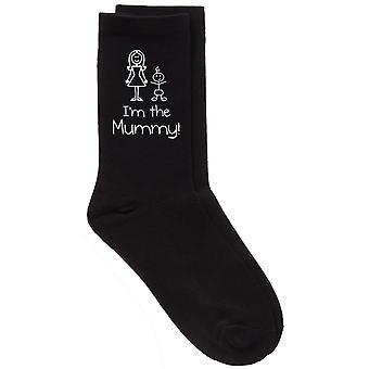 I'm The Mummy Black Socks