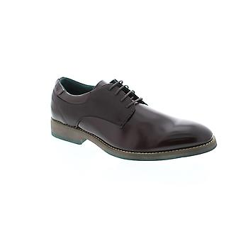 Robert Wayne Sandrino  Mens Brown Casual Lace Up Oxfords Shoes