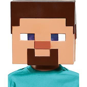 Minecraft Steve Mask