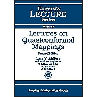 Lectures on Quasiconformal Mappings - 9780821836446 Book