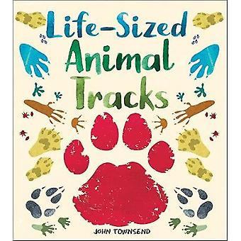 Life-Sized Animal Tracks by John Townsend - 9781912006106 Book