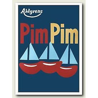 PIM PIM nostalgie poster