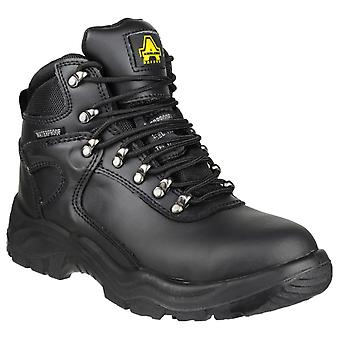 Amblers Safety Mens FS218 Impermeabile Pizzo Up Safety Boot Nero