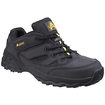 Amblers Safety Mens FS68C Fully Composite Metal Free Safety Trainer Nero