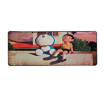 Mouse pad, 30x80 cm-Stand by Me Doraemon