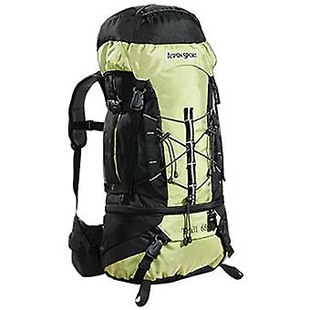 AspenSport - Zaino da Trekking Trail - 65 Litri - Colore: Nero/Verde