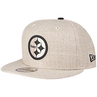 New Era 9Fifty Snapback Cap Pittsburgh Steelers heather oat