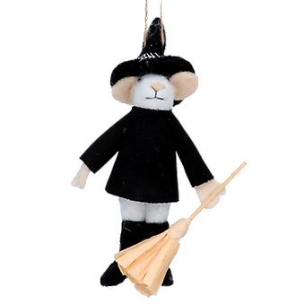 Gisela Graham Halloween Wizard Mouse
