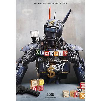 Chappie originele Movie Poster dubbel zijdig Advance stijl