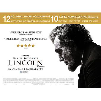 Lincoln Cartel doble cara regular (Quad) Original Cinema Cartel - Premios Variante