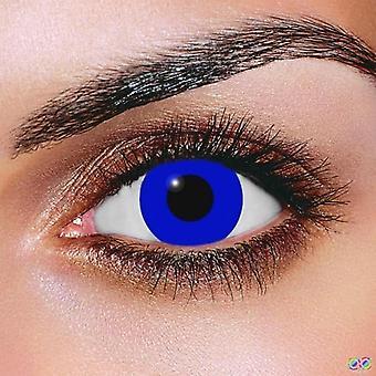 Royal blå kontaktlinser (par)