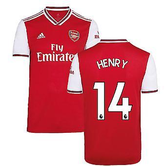 2019-2020 آرسنال أديداس قميص كرة القدم الرئيسية (HENRY 14)