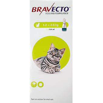 Bravecto Topical For Cats 1.2-2.8 kg (3-6 lbs)
