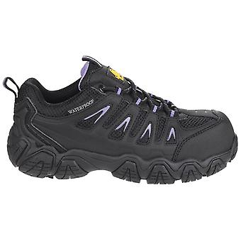 Amblers Safety Womens/Ladies AS708 Waterproof Non-Metal Safety Trainers