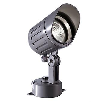 Led Spotlight Power Spot COB V 9 W 4000 K D 100 mm aluminio gris oscuro IP65